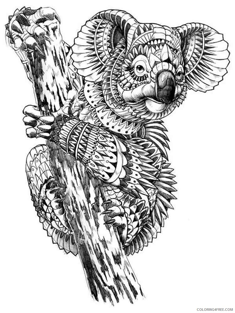 Difficult Coloring Pages Adult Difficult For Adults 2 Printable 2020 310  Coloring4free - Coloring4Free.com