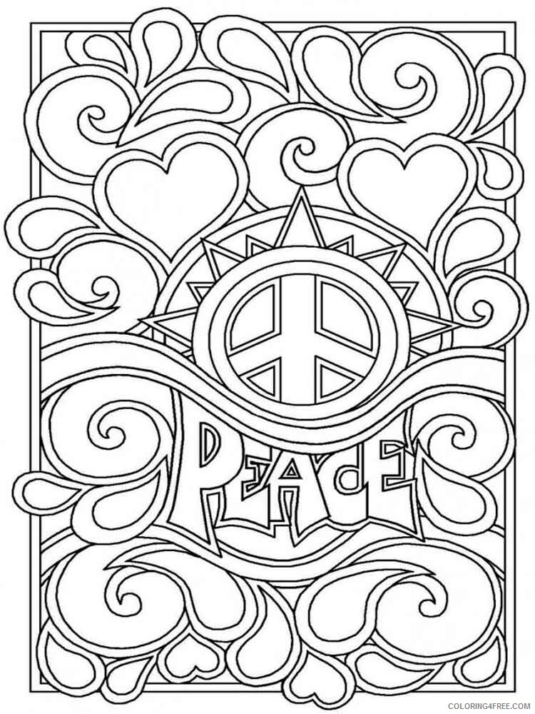 Difficult Coloring Pages Adult difficult for adults 7 Printable 2020 315 Coloring4free