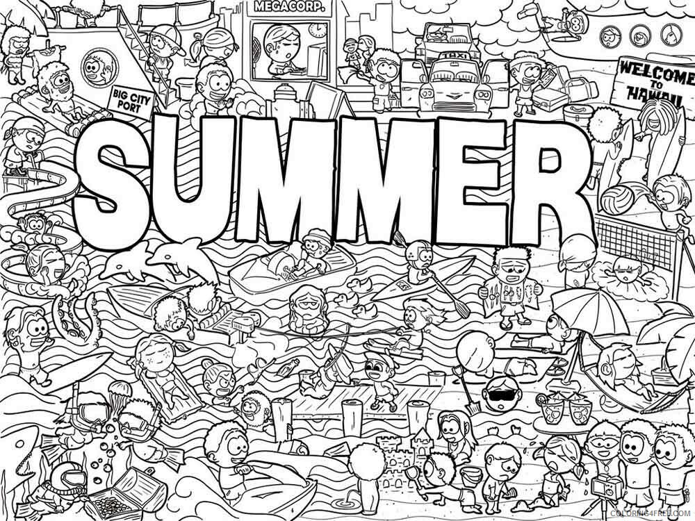 Doodle Coloring Pages Adult doodle adults 32 Printable 2020 344 Coloring4free