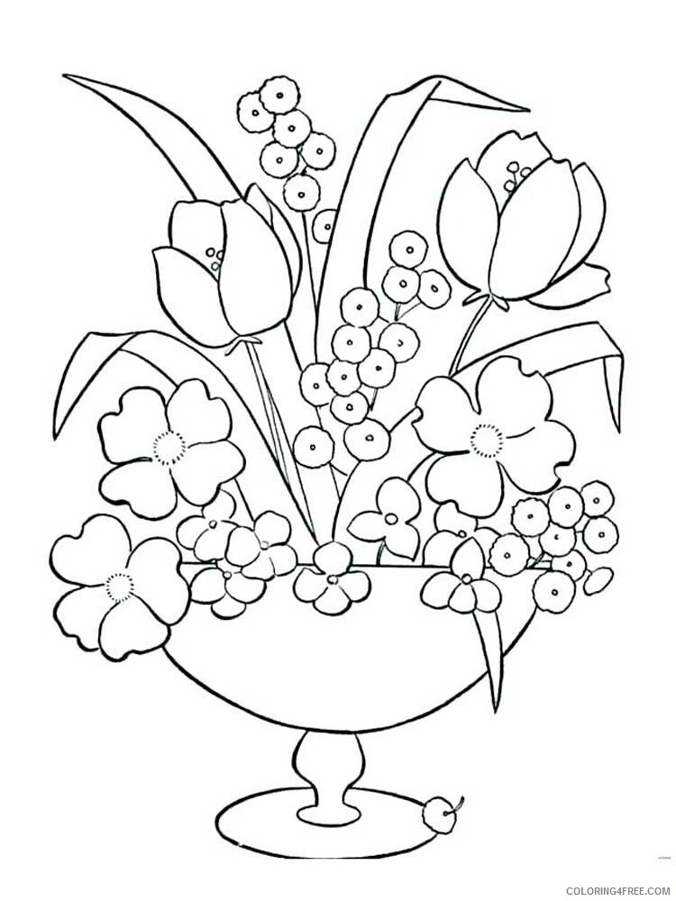Easy for Adults Coloring Pages easy for adults 13 Printable 2020 588 Coloring4free