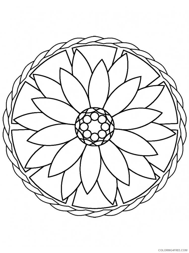 Easy for Adults Coloring Pages easy for adults 14 Printable 2020 589 Coloring4free
