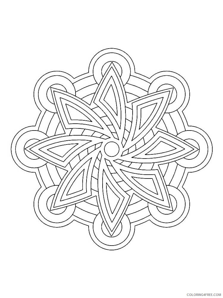 Easy for Adults Coloring Pages easy for adults 16 Printable 2020 591 Coloring4free