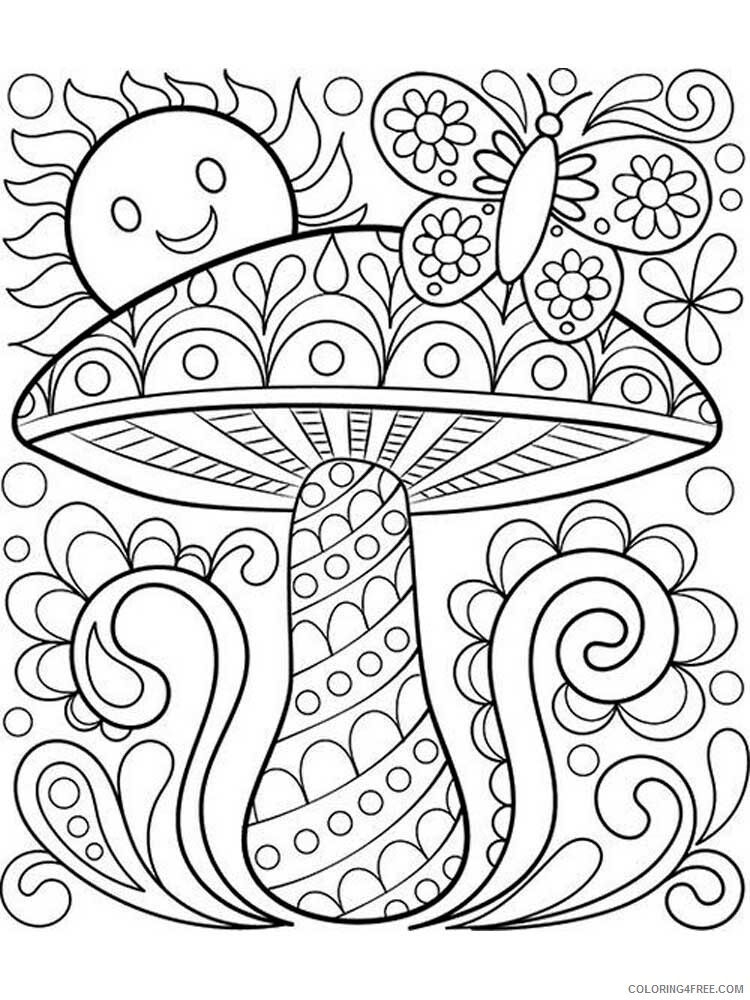 Easy for Adults Coloring Pages easy for adults 2 Printable 2020 594 Coloring4free