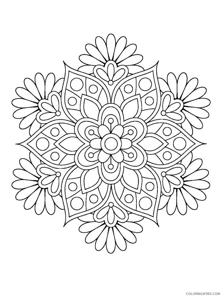 Easy for Adults Coloring Pages easy for adults 21 Printable 2020 596 Coloring4free