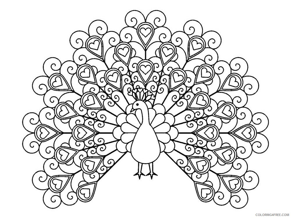 Easy For Adults Coloring Pages Easy For Adults 25 Printable 2020 600  Coloring4free - Coloring4Free.com