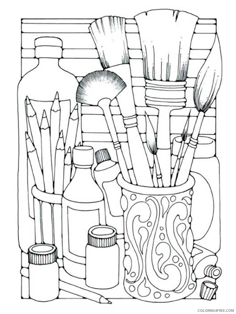 Easy for Adults Coloring Pages easy for adults 4 Printable 2020 602 Coloring4free