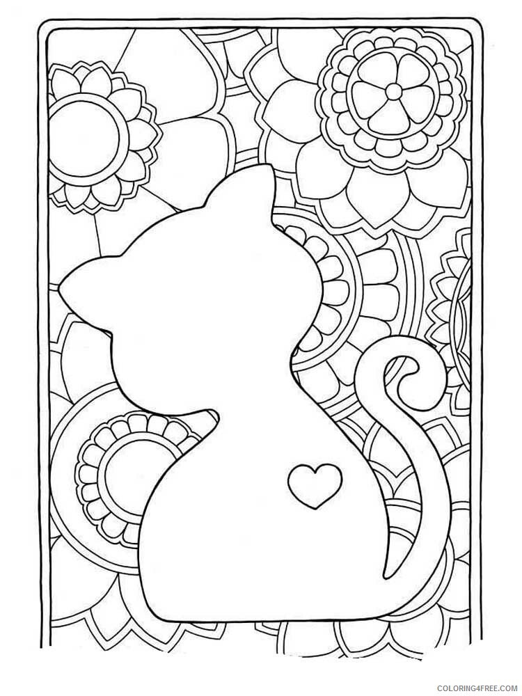 Easy for Adults Coloring Pages easy for adults 5 Printable 2020 603 Coloring4free
