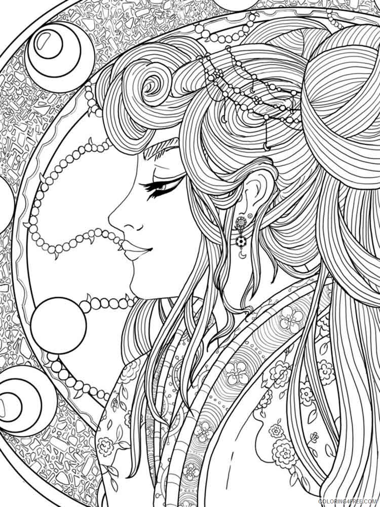 Fantasy for Adults Coloring Pages fantasy for adults 12 Printable 2020 613 Coloring4free