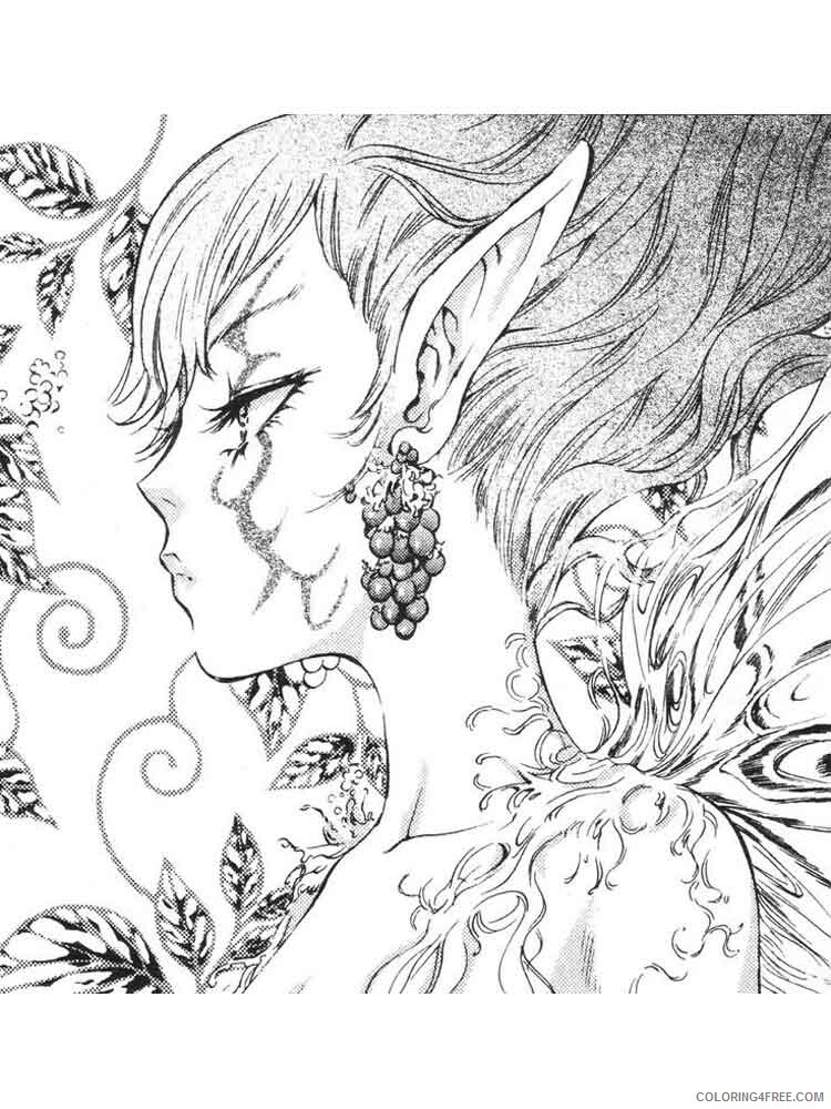 Fantasy for Adults Coloring Pages fantasy for adults 7 Printable 2020 619 Coloring4free