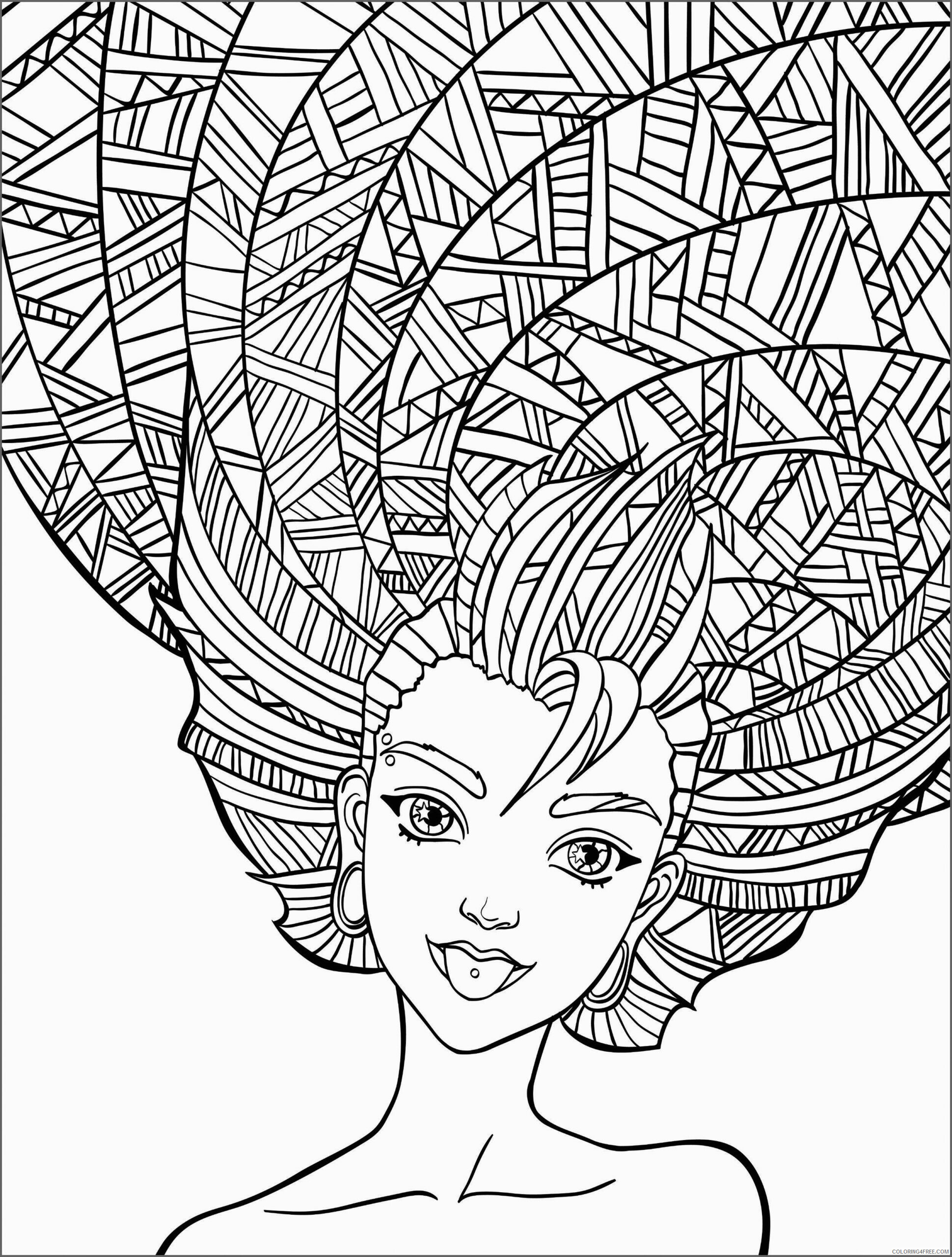 Funny Adult Coloring Pages Free for Adults Printable 2020 625 Coloring4free