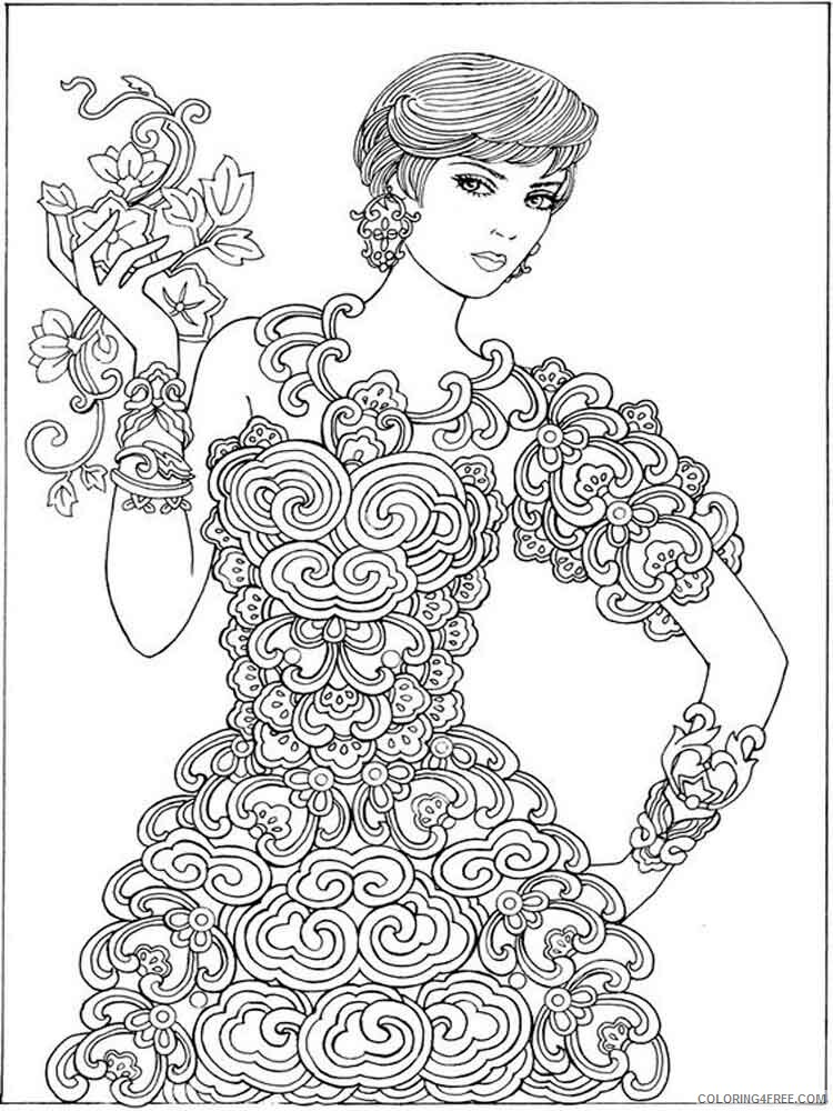 Grown up Coloring Pages Adult grown up adult 1 Printable 2020 460 Coloring4free