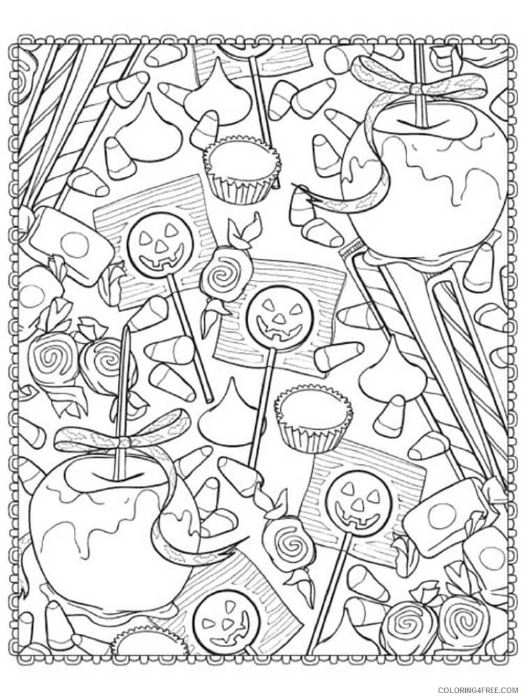 Halloween for Adults Coloring Pages halloween for adults 6 Printable 2020 638 Coloring4free