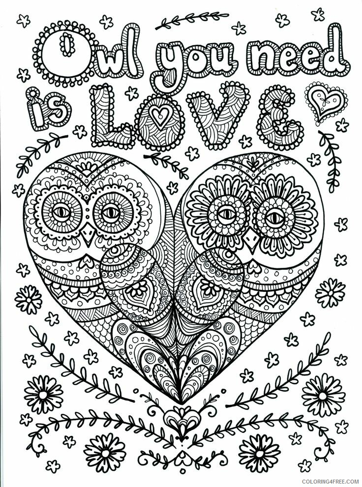 Hard for Adults Coloring Pages Hard of Animals Printable 2020 668 Coloring4free