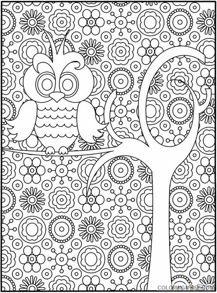 Hard for Adults Coloring Pages free hard for adults Printable 2020 645 Coloring4free
