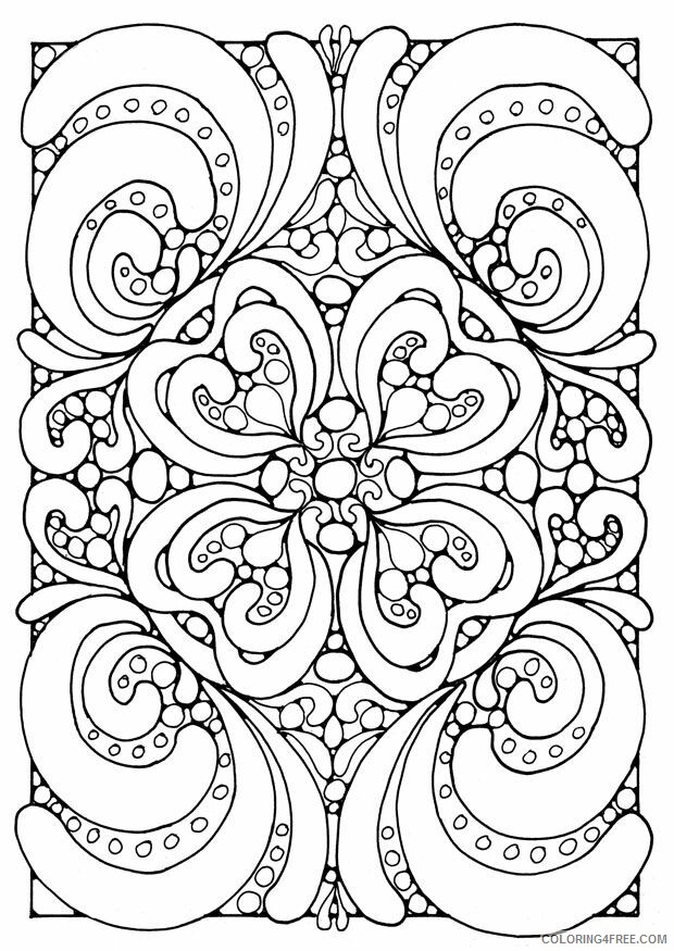 Hard for Adults Coloring Pages hard downloadable Printable 2020 646 Coloring4free