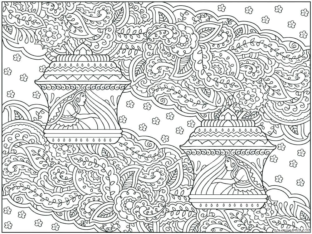 Hard for Adults Coloring Pages hard for adults 15 Printable 2020 653 Coloring4free