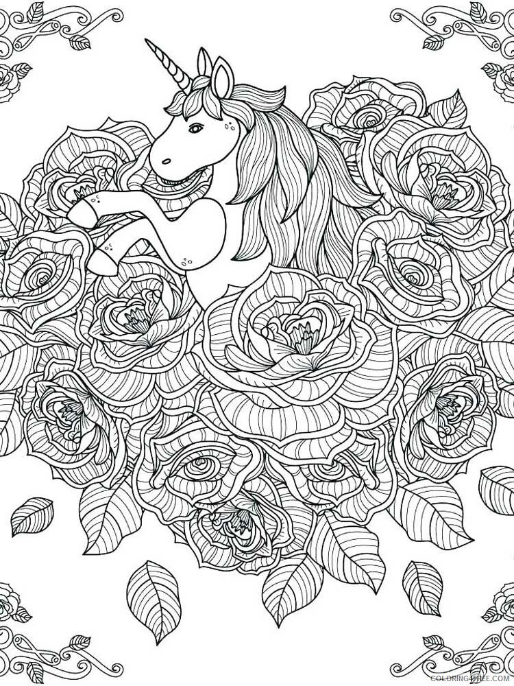 Hard for Adults Coloring Pages hard for adults 21 Printable 2020 657 Coloring4free