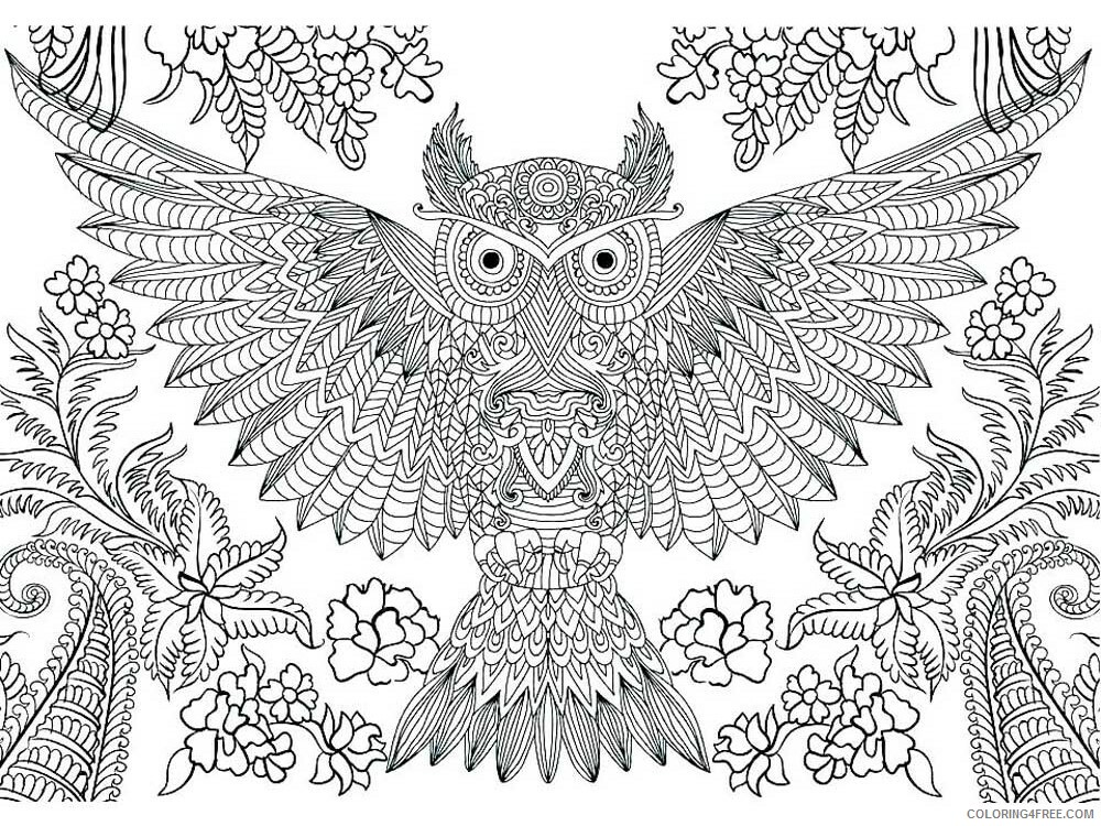 Hard for Adults Coloring Pages hard for adults 25 Printable 2020 660 Coloring4free