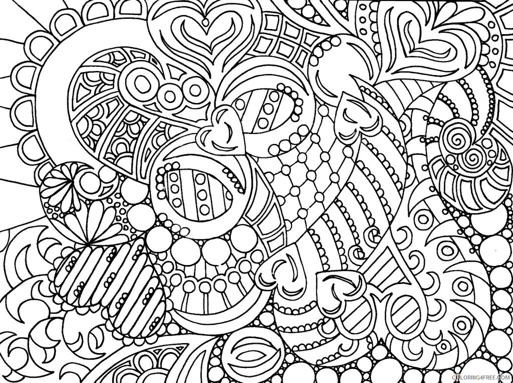 Hard for Adults Coloring Pages print hard for adults Printable 2020 673 Coloring4free