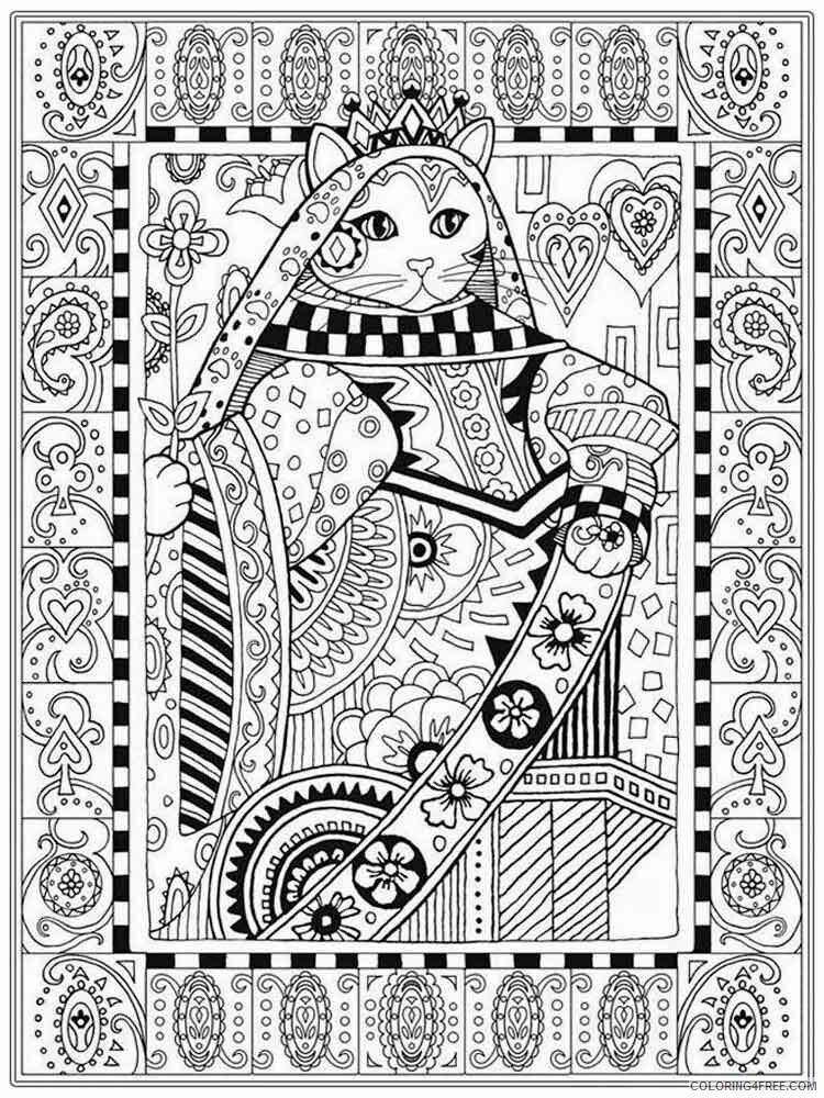 Intricate for Adults Coloring Pages intricate for adults 11 Printable 2020 675 Coloring4free
