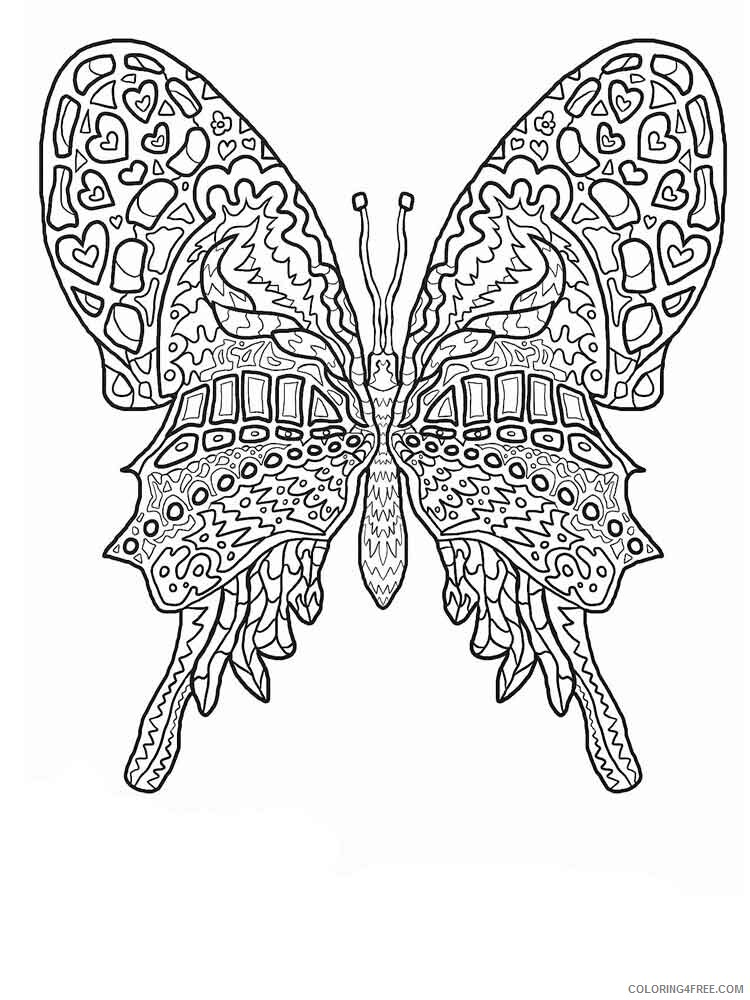 Intricate for Adults Coloring Pages intricate for adults 17 Printable 2020 679 Coloring4free