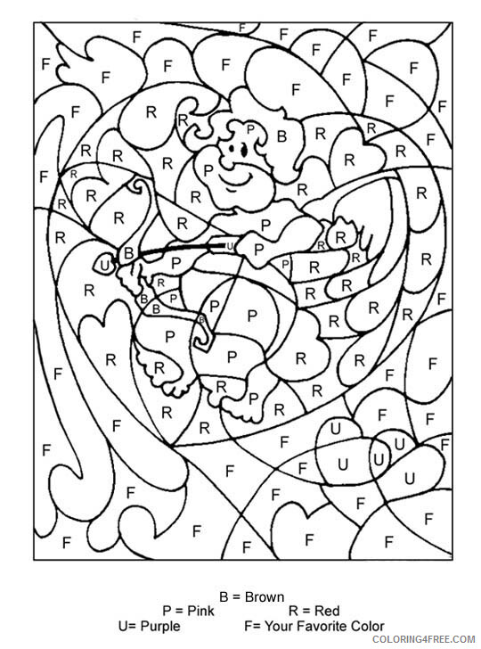 Letter Coloring Pages Educational Color By Letter Printable 2020 1594 Coloring4free Coloring4free Com