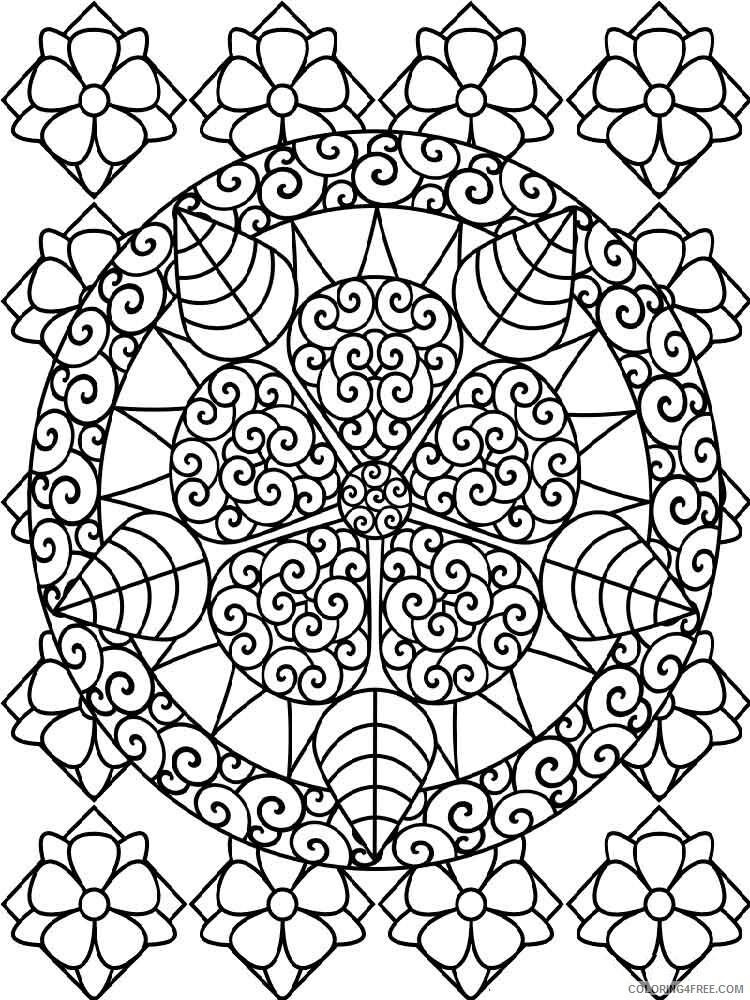 Mandala Coloring Pages Adult mandala adult 23 Printable 2020 571 Coloring4free