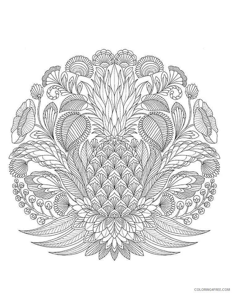 Mandala Coloring Pages Adult mandala adult 26 Printable 2020 574 Coloring4free