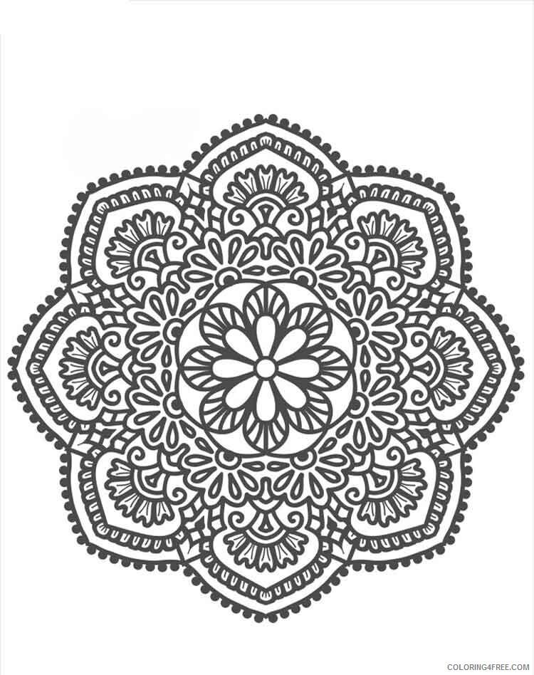 Mandala Coloring Pages Adult mandala adult 28 Printable 2020 576 Coloring4free