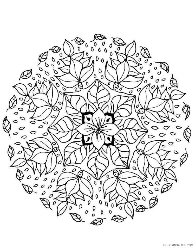Mandala Coloring Pages Adult mandala adult 31 Printable 2020 580 Coloring4free