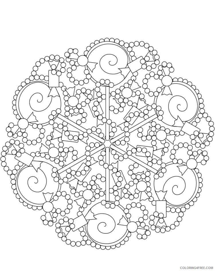 Mandala Coloring Pages Adult mandala adult 35 Printable 2020 584 Coloring4free