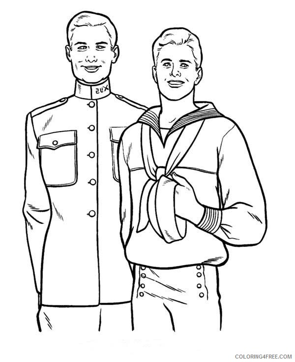 Military Coloring Pages For Boys Old Friend In Armed Forces Day 2020 0624 Coloring4free Coloring4free Com