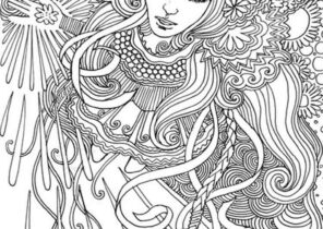 Psychedelic Coloring Pages Coloring4free Com