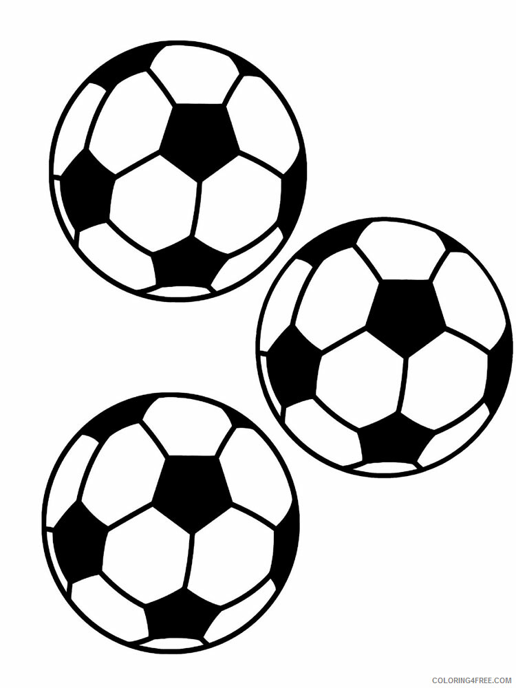 Soccer Ball Coloring Pages For Boys Soccer Ball For Boys 8 Printable 2020  0913 Coloring4free - Coloring4Free.com