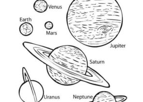 Solar System Coloring Pages Coloring4free Com