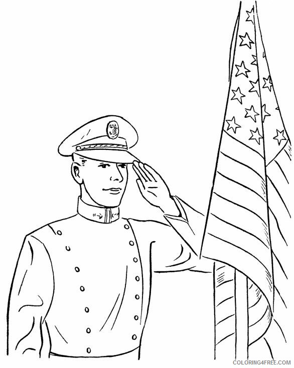 Soldier Coloring Pages For Boys Free Soldier Memorial Day Printable 2020 0918 Coloring4free Coloring4free Com