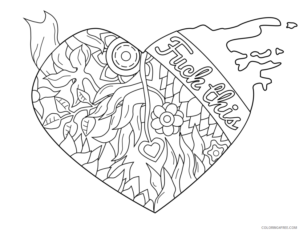Swear Words Coloring Pages To Print Www.robertdee.org