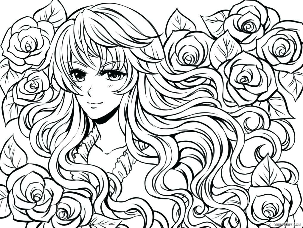 Teens Coloring Pages Adult Free Online For Teens Complex Printable 2020 868  Coloring4free - Coloring4Free.com