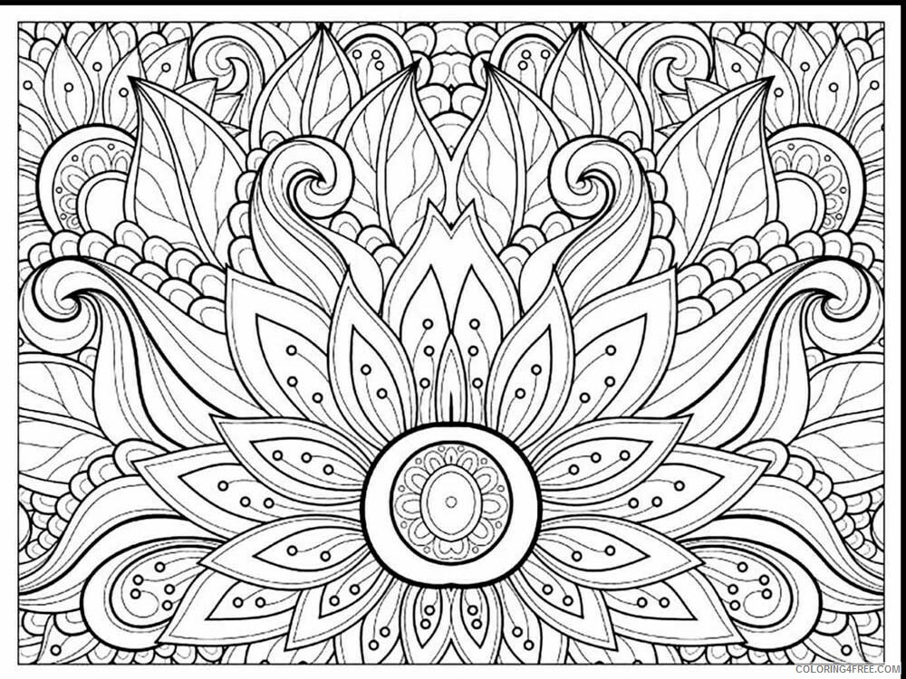 Teens Coloring Pages Adult For Teens 16 Printable 2020 849 Coloring4free -  Coloring4Free.com
