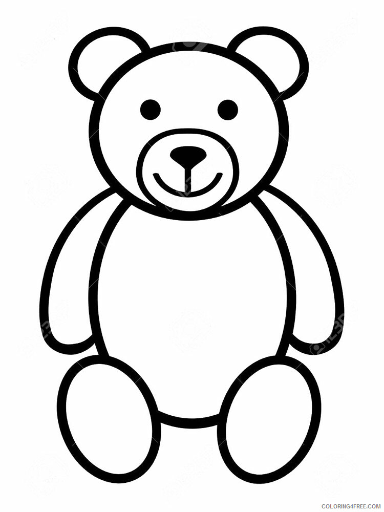 3 Year Old Coloring Pages For Kids 3Year Old 4 Printable 2021 013  Coloring4free - Coloring4Free.com