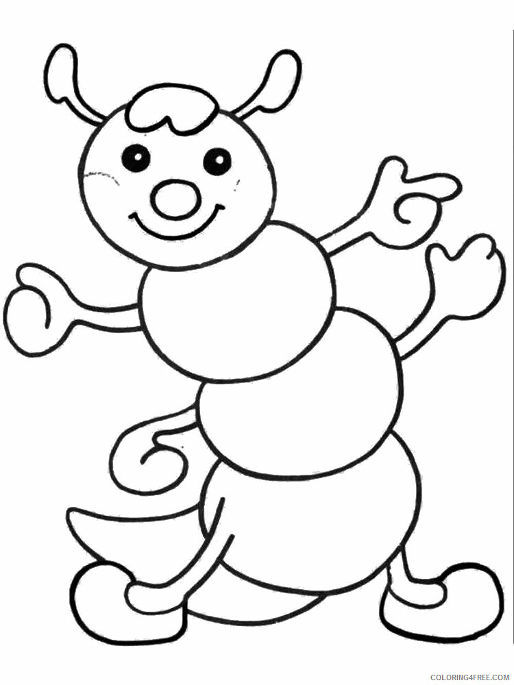 4 Year Old Coloring Pages for Kids 4Year Old 16 Printable 2021 024 Coloring4free