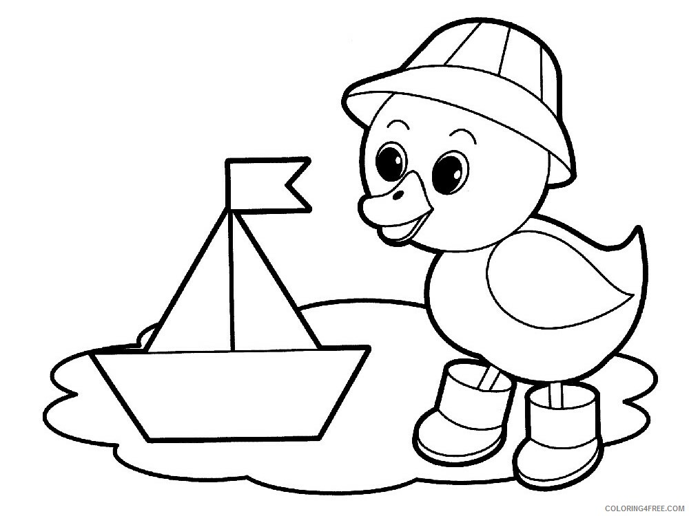 4 Year Old Coloring Pages for Kids 4Year Old 2 Printable 2021 028 Coloring4free