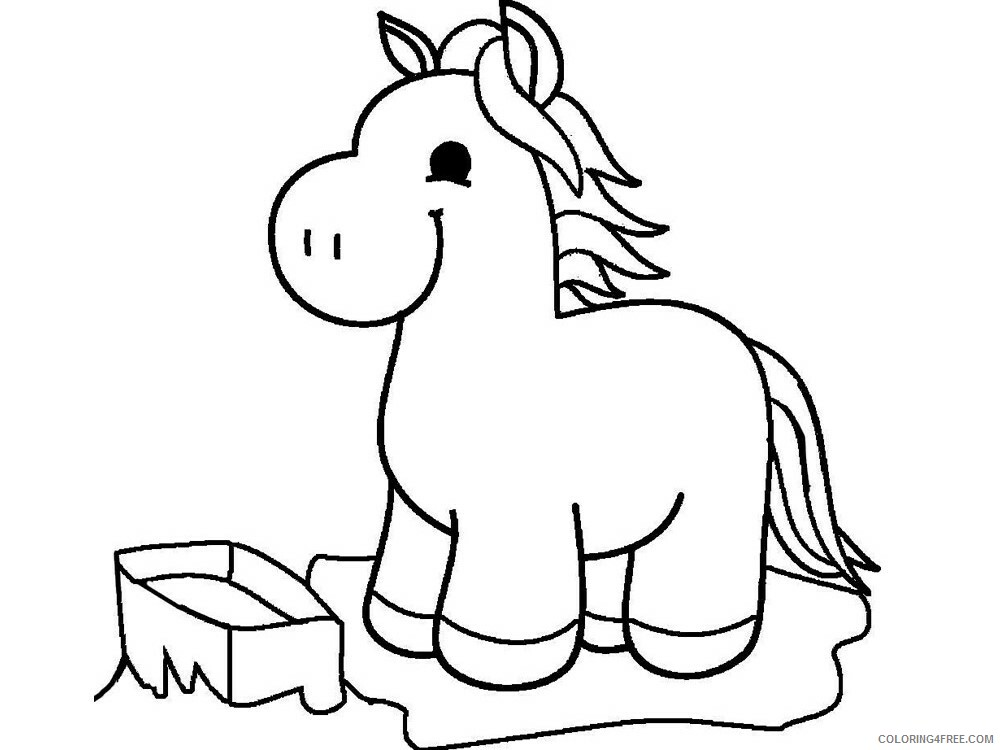 4 Year Old Coloring Pages for Kids 4Year Old 9 Printable 2021 040 Coloring4free