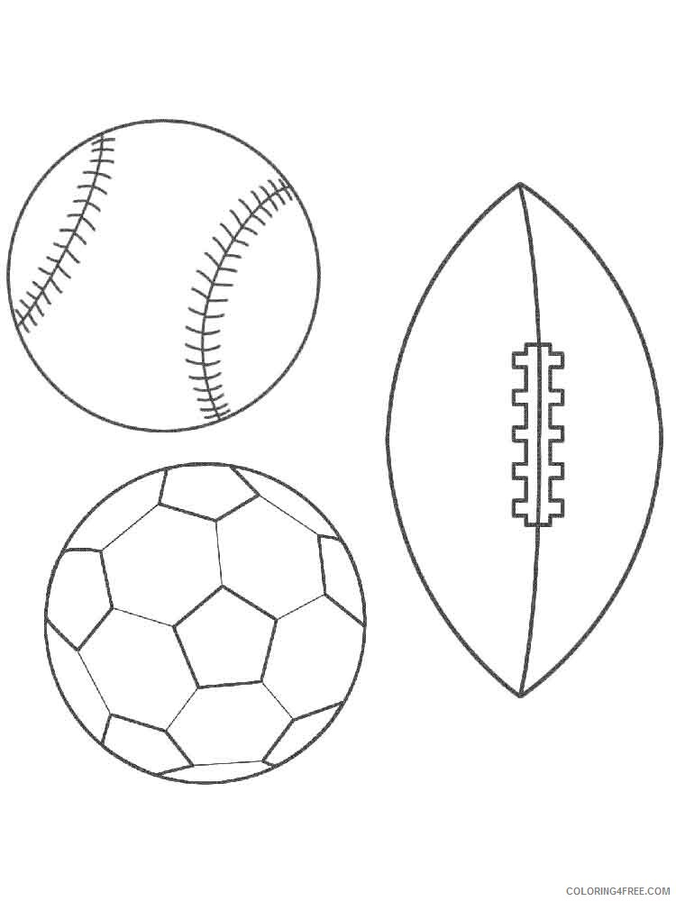 Ball Coloring Pages For Kids Ball 13 Printable 2021 005 Coloring4free -  Coloring4Free.com