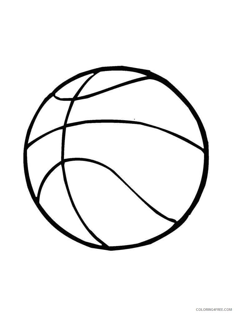 Ball Coloring Pages for Kids ball 2 Printable 2021 012 Coloring4free