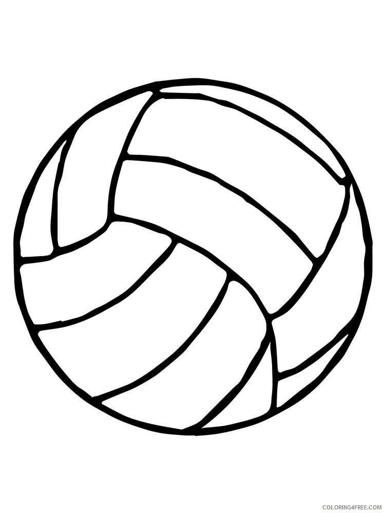 Ball Coloring Pages for Kids ball 9 Printable 2021 026 Coloring4free