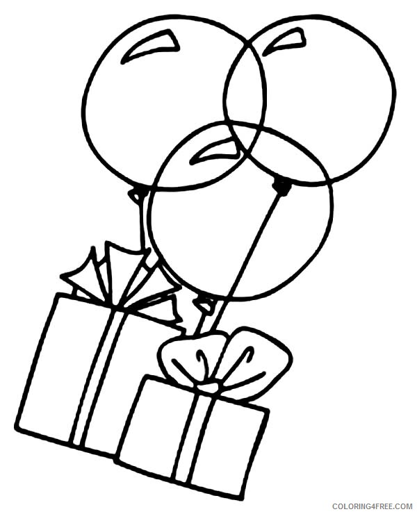 Balloons Coloring Pages for Kids Box and Balloon Printable 2021 035 Coloring4free