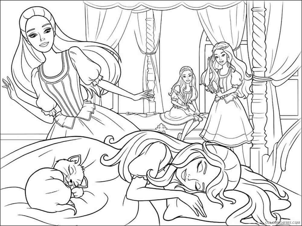 Barbie And The Three Musketeers Coloring Pages For Girls Printable 2021 0166 Coloring4free Coloring4free Com