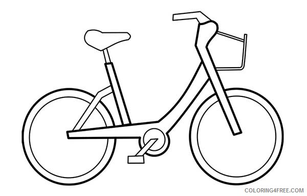 Bicycle Coloring Pages for Kids Bicycle Printable 2021 047 Coloring4free