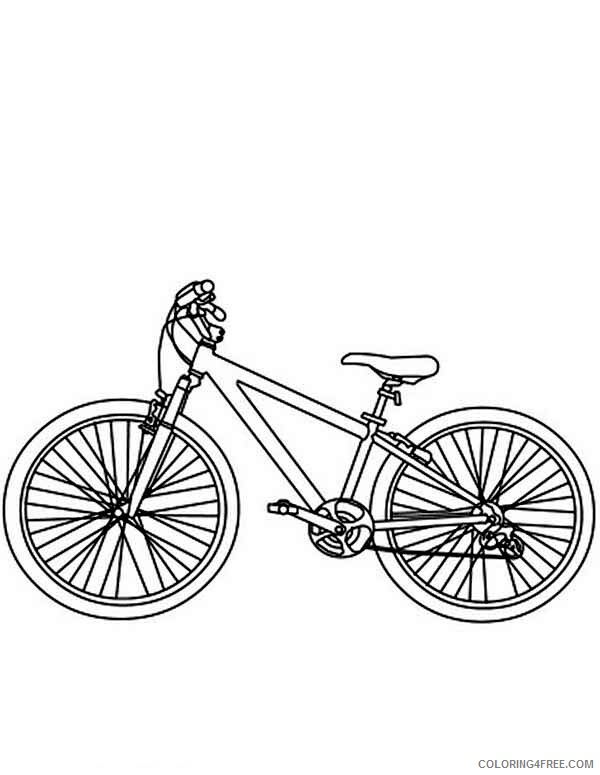 Bicycle Coloring Pages for Kids Bicycle for Kids Printable 2021 048 Coloring4free